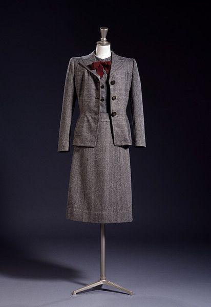 C20th Fashion History 1940s  Utility Clothing 1940s