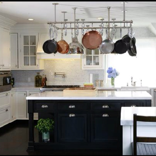 Kitchen Island Hanging Pots