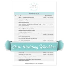 remember to return rentals send thank you cards and more - Thankyou Liste De Mariage
