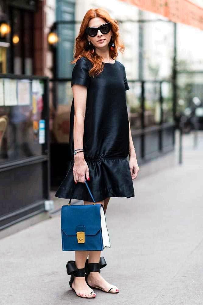 Luxury Kamala Nasirzade COS dress, Miu Miu bag, Celine glasses, Marni earrings #bags