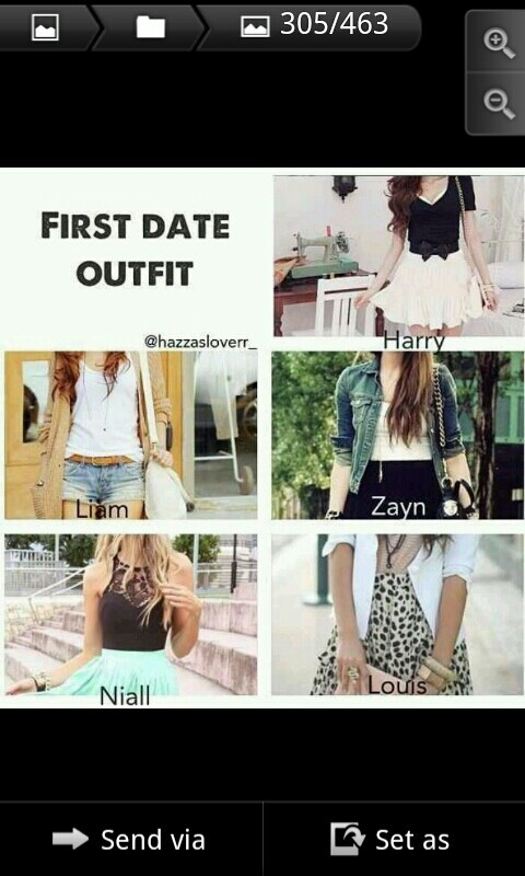 One direction preferences. The Niall one is beautiful!!