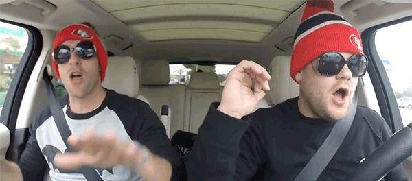 The Late Late Show with James Corden coldplay james corden carpool karaoke chris martin