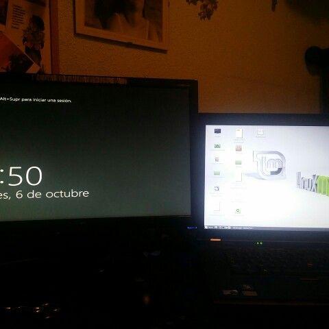 Trabajando con Windows 2012 y Linux Mint
