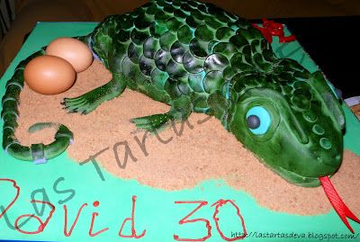 Lizard Cake - Tarta Lagarto