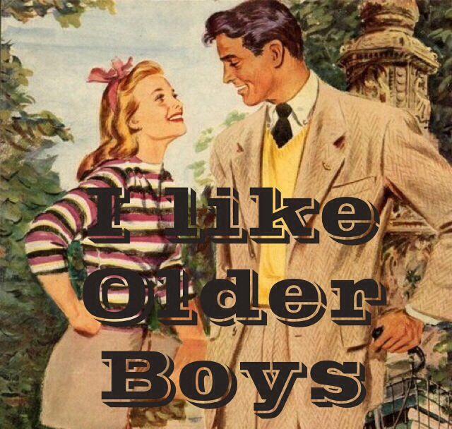 Classy older men, bright young women....  Or, vis versa :)