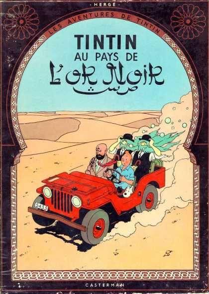 Tintin, Au Pays De Lor Noir, Herge