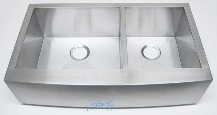 6 Unique Stainless Apron Front Kitchen Sink