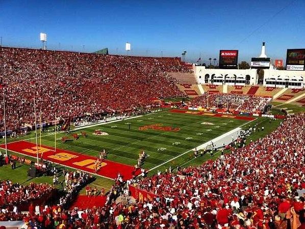 USC football game!!