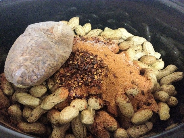 How to make Cajun Boiled Peanuts