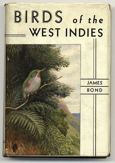 { t h e . l o v e l y . b o o k } Birds of the West Indies by James Bond 1936 | Author inspired 007 name