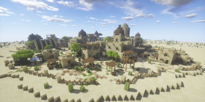 This is my first project in a long line which are to be themed mostly around arid/lush environments, specifically those located in the Mediterranean and the Middle-East. This build uses the Biomeso…