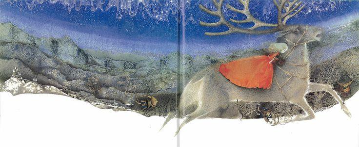 Illustrator, Pavel Tatarnikov: The Snow Queen.
