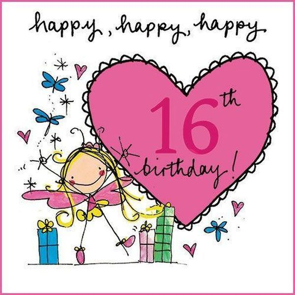 Great Quotes To Wish Your Granddaughter Happy 16th Birthday Happy 16th Birthday 16th Birthday Wishes 16th Birthday Card