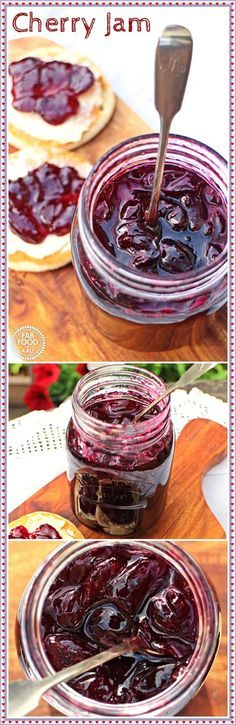 Cherry Jam, simple and delicious! Fab Food 4 All