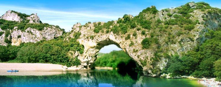 The Pont d'Arc Vallon Pont d'Arc
