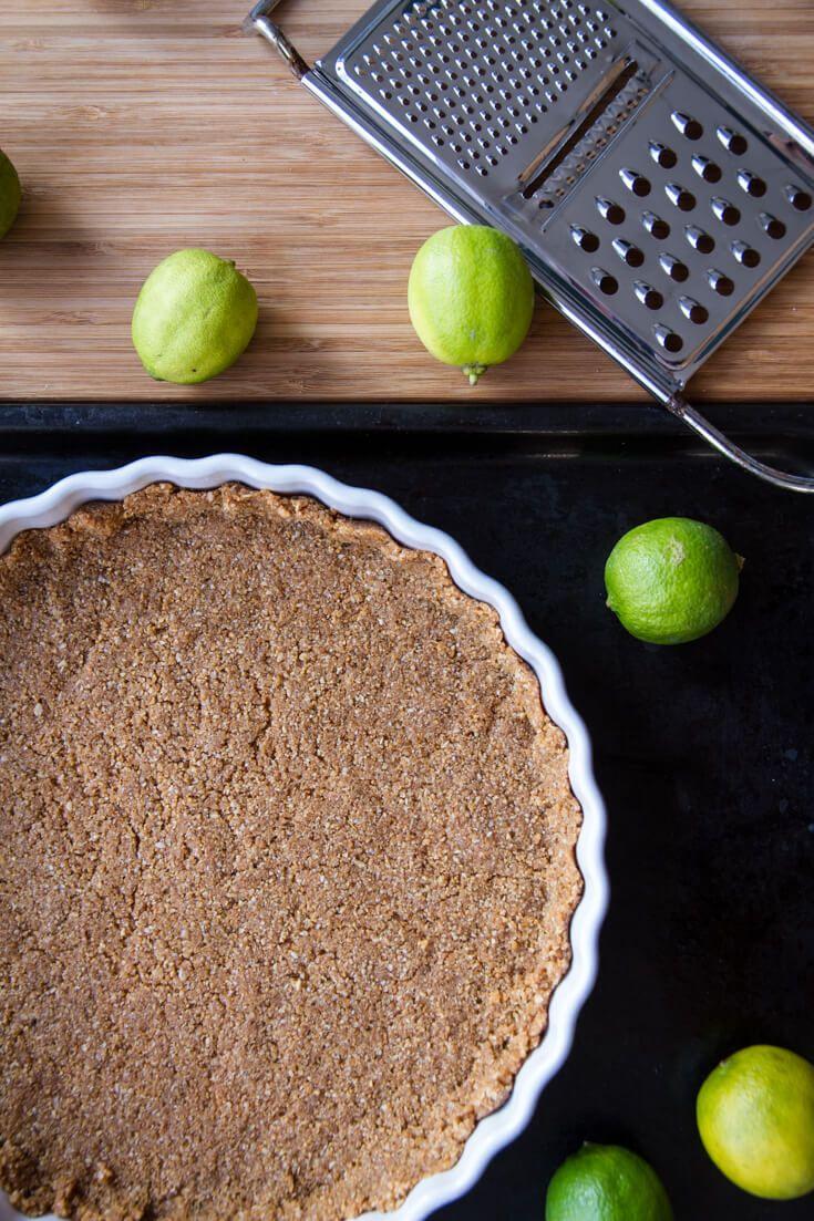 Hobnobs pie crust | www.haveanotherbite.com | #hobnob #oat #cookie #crust