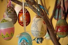 russian easter egg tree