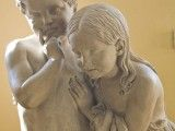 By sculptor Bertel Thorvaldsen.  On display at the Thorvaldsen Collection museum at Nysø near Præstø, Denmark.