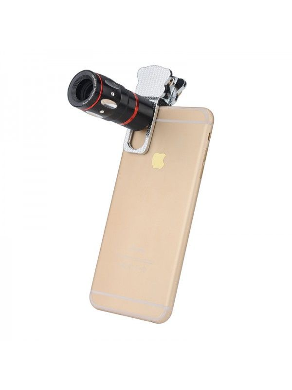 Universal 4-in-1 Cell Phone Lens Kit (Silver)