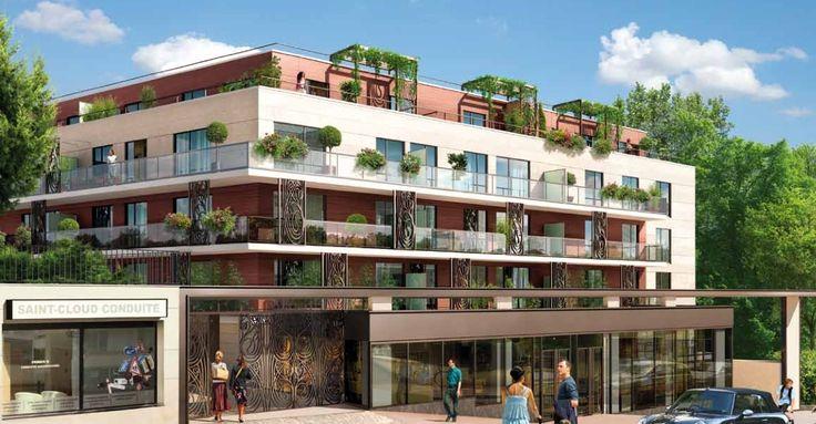 Vous revez d'une vue sur tout Paris?  Zip Immobilier vous présente ce programme à Saint Cloud, dans l'Ouest Parisien. Vous y trouverez des biens de prestige aux prestations haut de gamme dans un îlot de nature en plein cœur de la ville. Cette résidence sécurisée propose un large choix de logements du studio au 5 pièces duplex.  Venez jeter un coup d'oeil sur notre site!