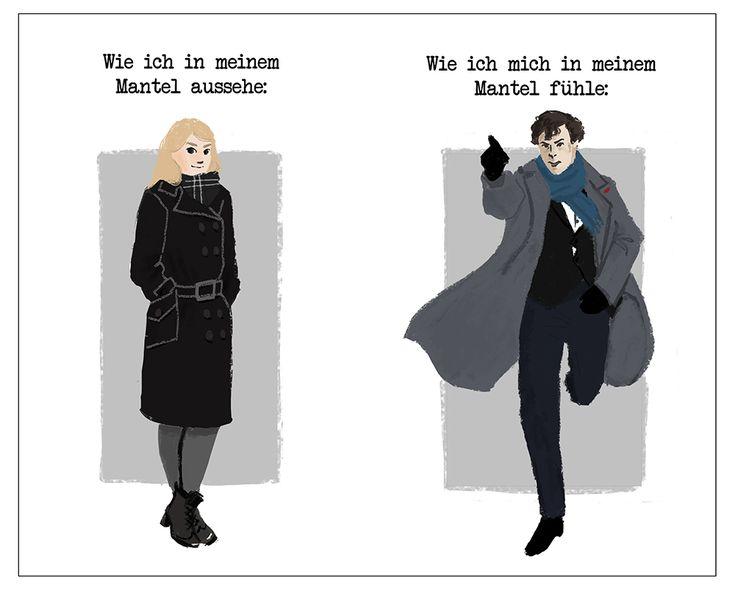 Wie ich in meinem Mantel aussehe vs. wie ich mich in meinem Mantel fühle (feat. Sherlock Mantel)