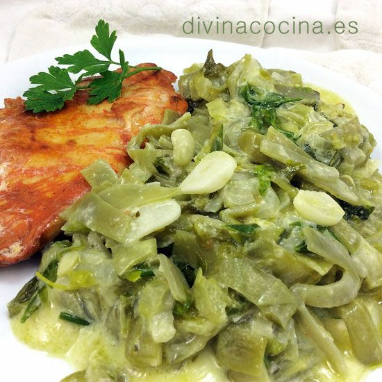 Judias verdes a la francesa < Divina Cocina