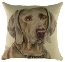 Weimaraner Waggy Dogz Cushion http://www.abentleycushions.co.uk/detail.asp?pID=2720