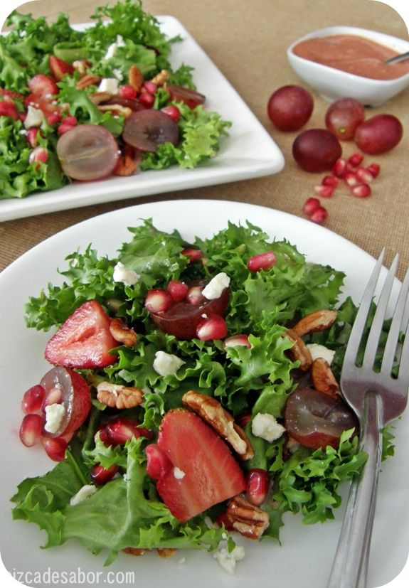 5 recetas de ensaladas veraniegas. Ensalada de frutas
