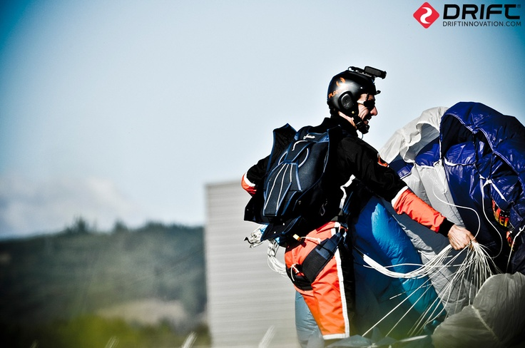 Drift HD Ghost. Perfect helmet camera for skydiving.