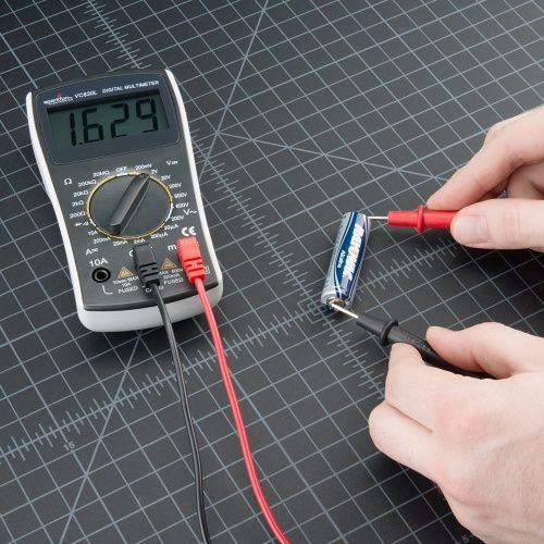 how to use an sca multimeter