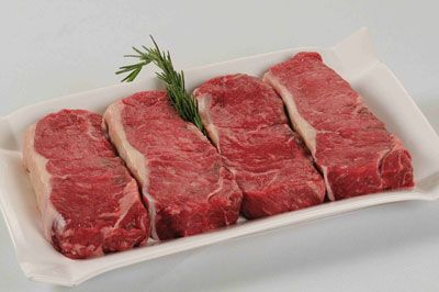 Our delicious New York Strips are a true friends and family favorite for cookouts. Cut from the short loin, it is particularly tender.  4-10...