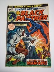 Marvel Comics Jungle Action # 5 Featuring the Black Panther July 1973 Vintage Comic Book G-