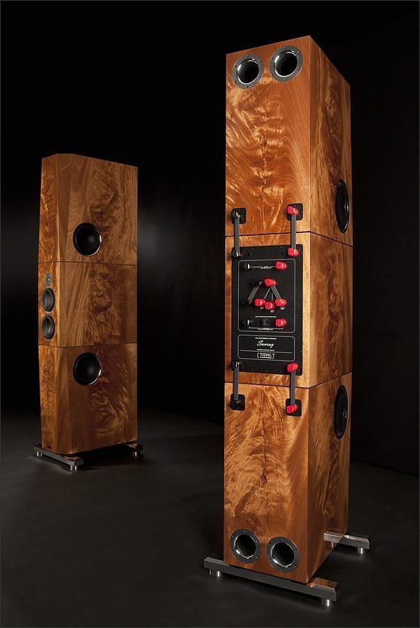 Tidal Audio High end Audio Audiophile speakers