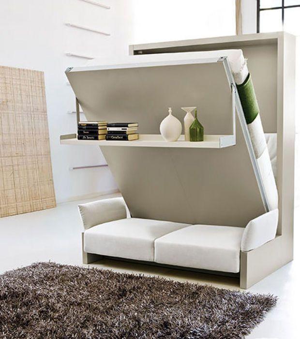 les 25 meilleures id es de la cat gorie lit escamotable canap sur pinterest lit escamotable. Black Bedroom Furniture Sets. Home Design Ideas