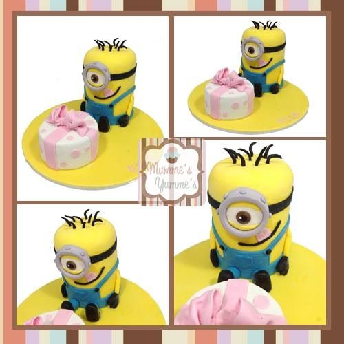 Who doesn't love a #minion made for my beautiful daughter Ella for her 4th birthday.