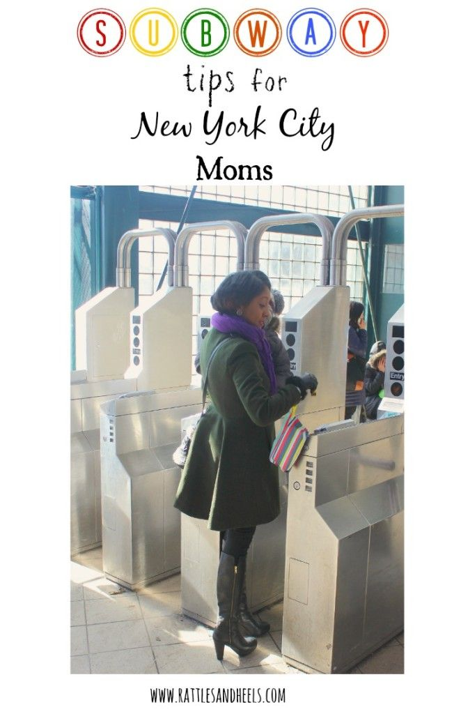 Tips for surviving the NYC subway with toddlers #MomsTrustHuggies #Ad #Cbias Rattles & Heels