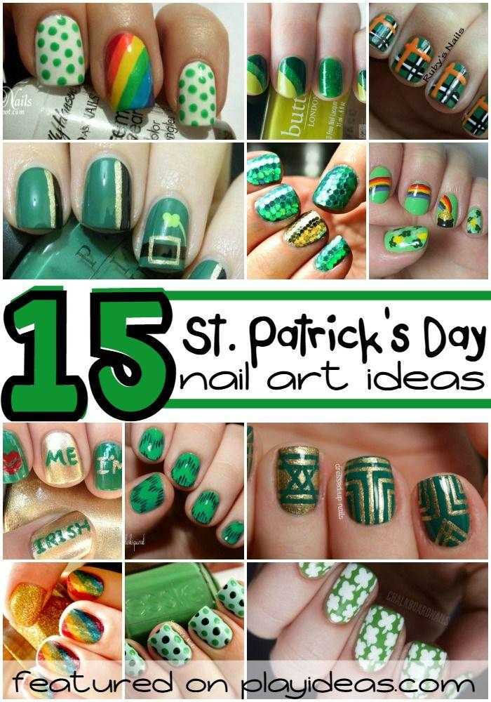 Multa Diseños De Uñas St Patrick Ideas Ornamento Elaboración ...