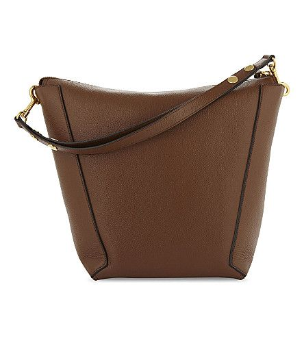 MULBERRY Camden leather hobo bag. #mulberry #bags #shoulder bags #leather #hobo #
