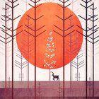 Silent Forest, Annisa Tiara Utami, Adobe Illistrator, 16'  https://www.reddit.com/r/Art/comments/4s0lia/silent_forest_annisa_tiara_utami_adobe/