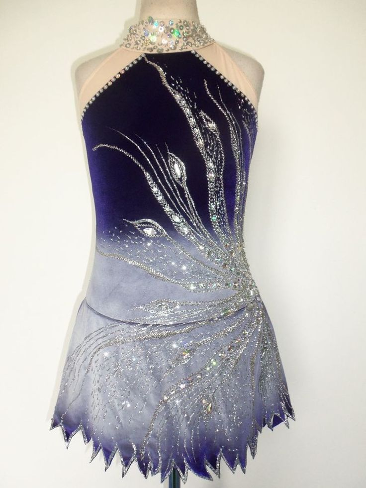 CUSTOM MADE NEW ICE SKATING BATON TWIRLING DANCE DRESS in Other | eBay