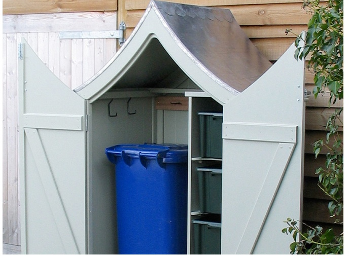 1000 Images About Garbage Can Shed On Pinterest: 17 Best Images About Garbage Trash Can And Recycling Sheds