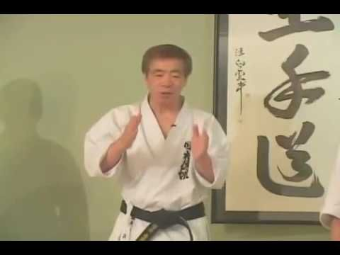 MACAM - MACAM SENI BELA DIRI: Video: Tutorial Karate Kumite by: Hirokazu Kanazaw...