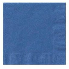 Royal Blue Luncheon Napkins - perfect colour match for our 1st Birthday Turtle theme