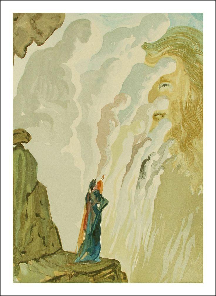 Salvador Dalí ~ The Divine Comedy: Purgatorio