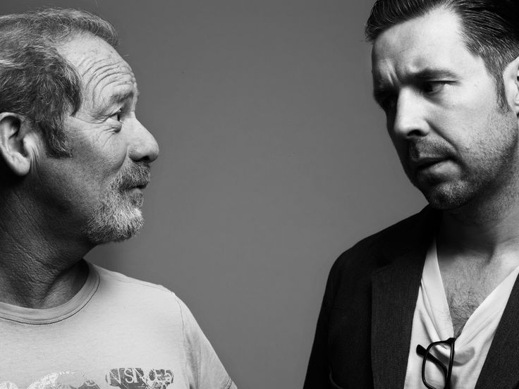 Peter Mullen and Paddy Considine
