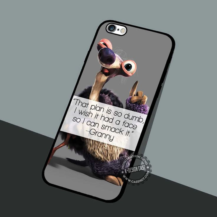 Granny Quote Ice Age - iPhone 7 6 5 SE Cases & Covers