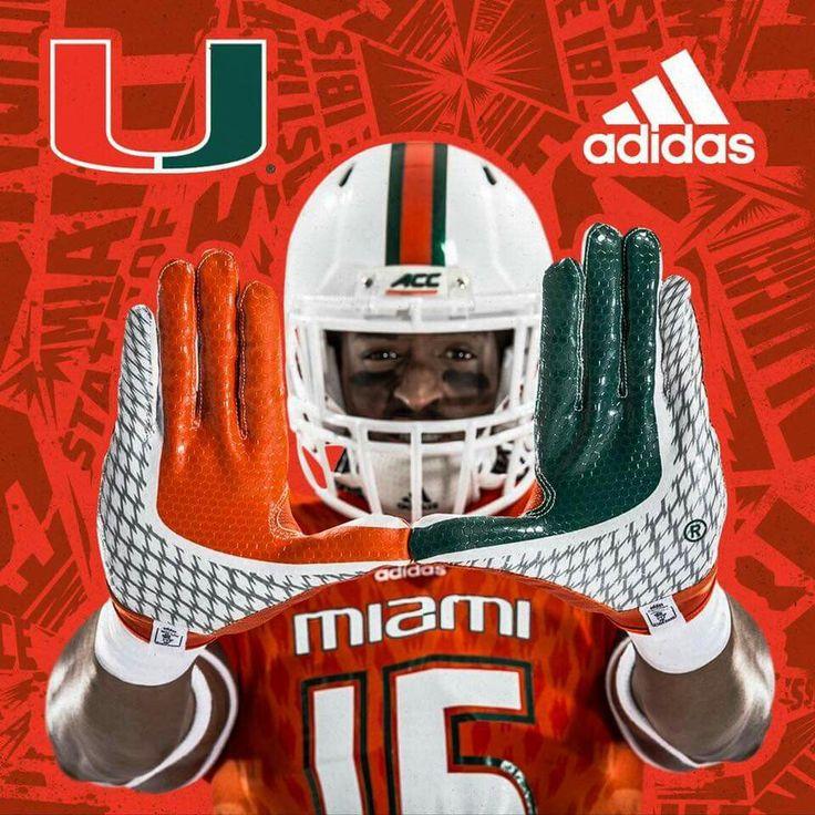 University Of Miami New Hurricanes Football Uniforms