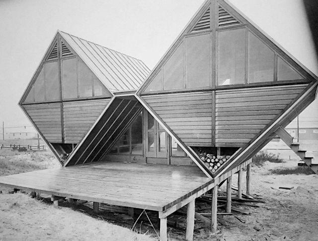 Andrew Geller - Pearl Roth House (Westhamptom Beach, New York 1959)