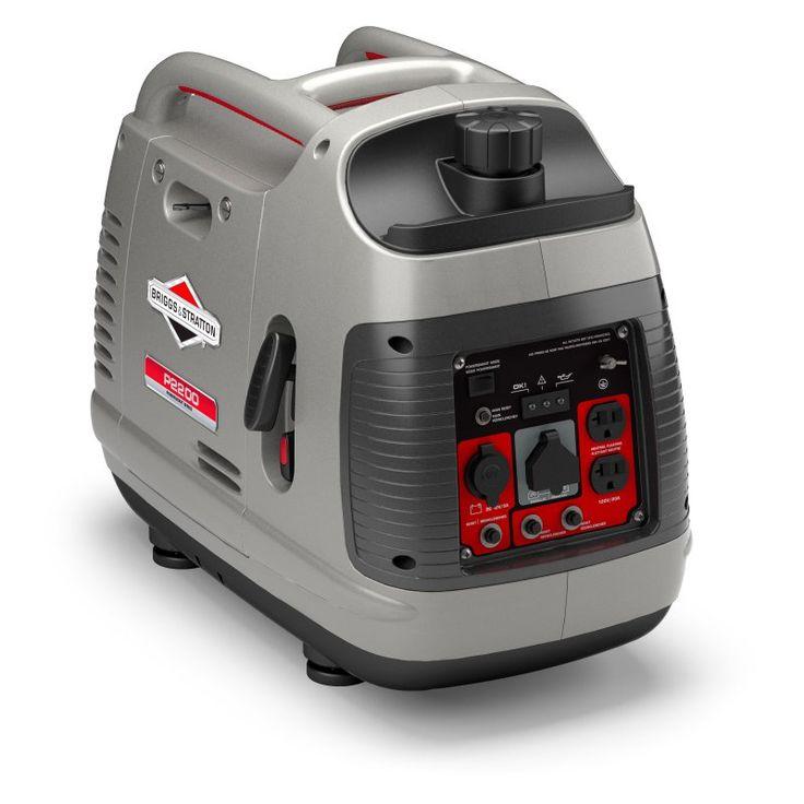 Briggs & Stratton PowerSmart Series Portable 2200-Watt Inverter Generator - 30651