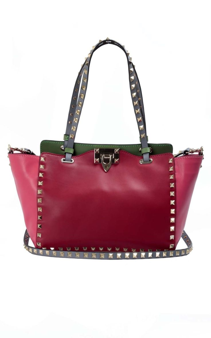 Valentino Mini Rock Stud bag - make it yours now here --> http://www.bagheeraboutique.com/en-US/designer/valentino